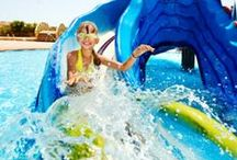 Top Waterparks In The USA / What's better than a waterpark in summertime? Hot days definitely have us daydreaming about splashing down awesome water slides and floating on lazy rivers. So, naturally we decided to put together our ultimate wishlist of waterparks to visit in the U.S. / by Personal Creations