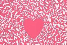i love love / I heart.