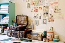 vintage luggage / by Design Quixotic