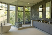 Interiors - Bathrooms / by Jen Christensen