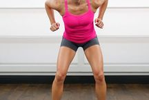 I workout! / by Kristina Rush