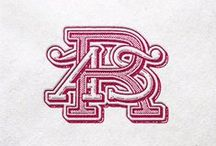 monograms / Letterforms showing off.