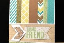 Crafting Cards At Home / by Clarissa Tinjum