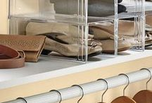 Organization Made Easy / With our organization ideas, including drawer organizers, storage shelves and shelf organizers, you can quickly and easily organize every room in your home...Even the garage and backyard! / by Solutions