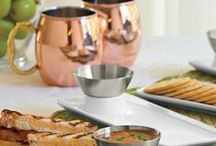 Easy Entertaining / Tips, tricks and favorite products to put on a party your guests won't soon forget. Clever tools & ideas save time when fixing dinner for the family. When you want to impress guests, look here for dinner party supplies, too. / by Solutions