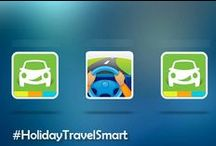 #HolidayTravelSmart / Traveling home this holiday season? Before you head out by train, plane or automobile, USAA shares a few tips to make sure that you travel smart! / by USAA