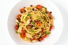 Pasta Recipes / Sometimes all you need is a big bowl of pasta. / by Hannaford Supermarkets