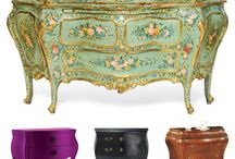 Interior | Furniture / Antique, vintage, shabby chic, rococo, painted furniture