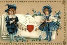 Vintage St Valentine's Day / Antique and vintage Saint Valentine's day postcards, ephemera and printables. Love, sweetheart, be mine
