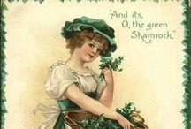 Vintage St Patrick's Day / Antique and vintage Saint Patrick's day postcards, ephemera and printables