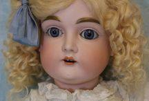 Antique Kestner Dolls / Antique German Kestner bisque dolls