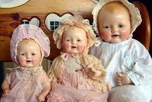 Antique Celluloid & Composite Dolls / Antique celluloid and composite dolls
