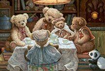 Teddy | Janet Kruskamp / Janet Kruskamp artworks with teddies and others