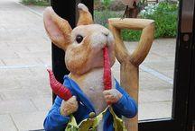 Bunny | Beatrix Potter / Amazing illustrations of Peter the Rabbit by Beatrix Potter