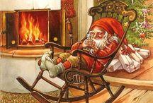 Christmas | Lars Carlson / Amazing Christmas illustrations by Lars Carlson. Feel the Scandinavian Christmas. God Jul! Merry Christmas! Nisser fra Norge