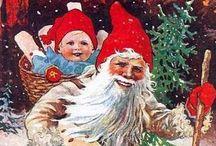 Christmas | Jenny Nystrom / Amazing Christmas illustrations by Jenny Nystrom. God Jul!
