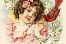 Vintage | Maud Humphrey / Amazing artworks by Maud Humphrey