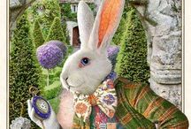 Alice in the Wonderland / Have you seen a white rabbit?