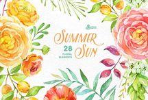DIY | Watercolor Painting / Watercolor artworks