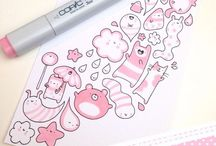 DIY | Doodling & Coloring / Relaxing coloring pages and tips