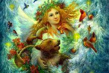Art | Nadezhda Strelkina / Fairy