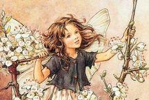 Art | Cicely Mary Barker / Magic fairies and elves by Cicely Mary Barker