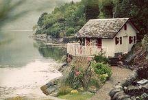 Lake Houses / A house near a lake is a real paradise. Dreamhome!