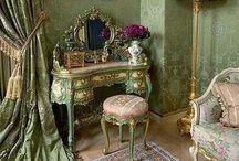 Interior | Rococo & Baroque / Baroque and rococo interior