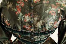 Antique American Fashion / Antique American dresses