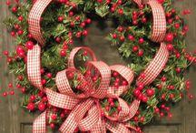 Christmas wreath / Christmas wreaths