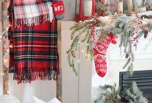 Christmas interior / Christmas interior