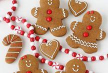 Christmas gingerbread cookies / Christmas gingerbread cookies