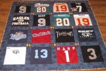 T-shirt/jersey quilts