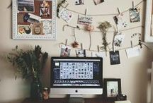 Collect and Organise / artist studios, collections, assemblage, inspiration walls, artistic process, mood boards / by AliceKierre