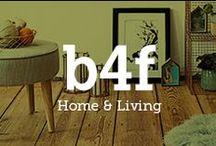 b4f X Home & Living / Zu Hause ist es doch am schönsten! Wir haben tolle #Wohnideen für ein noch schöneres Zuhause und in unserem Magazin erfahrt die neuesten #Interior Trends.