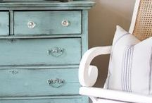 Inspiring Furniture / Some of my very favorite furniture pieces from around the web.  Makeovers and original pieces.