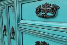 Refinished Bedroom Furniture ~ Painted, Glazed & Distressed! / Our favorite bedroom furniture pieces, transformed with paint, glaze, and distressing techniques. Inspiration for your next DIY bedroom project!