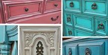 Facelift Furniture Blog & DIY Inspiration / Favorite furniture pieces transformed by paint, glaze and distressing. Before & after inspiration from the Facelift Furniture blog, along with DIY tips and ideas for your next refinishing project.