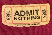 Admit Nothing