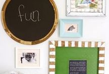 Dress my walls / Great ideas for adding personality to your walls / by Allison (The Golden Sycamore)