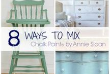 FURNITURE : Paint It / How to paint your furniture