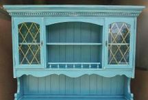 Hutches, Cabinets & Buffets / Favorite hutches, cabinets & buffets ~ painted, glazed, and distressed by Facelift Furniture.