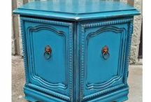 End Tables / Favorite end tables ~ painted, glazed, and distressed by Facelift Furniture. Find even more DIY inspiration on our website at http://www.faceliftfurniture.com/gallery/end-tables/