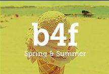 b4f X Spring & Summer / Frühling und Sommer sind die schönsten Jahreszeiten! Die Tage mit viel #Sonne, warmer Luft und Vogelgezwitscher verbreiten gute Laune. Wir können das auch und zwar mit passenden Klamotten!