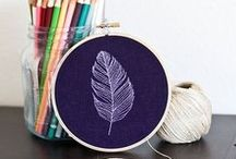 Broderie//Embroidery / by Rédaction Prima