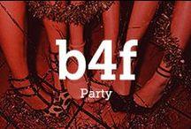 b4f X Party / Party Fashion! Das kleine schwarze oder der Pailletten Rock! Hier findest du Looks, die einen großen Auftritt sichern!
