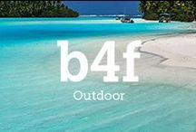b4f X Outdoor / #wanderlust