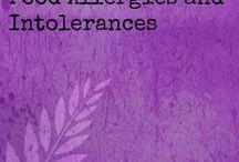 Food allergies/intolerances