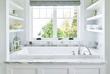 Master Bathroom / Design Ideas for Decorating your Master Bathroom / by Chaotically Creative