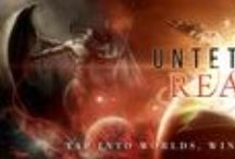 Untethered Realms / Books and authors of Untethered Realms. Tap into worlds, wings, and specfic things.
